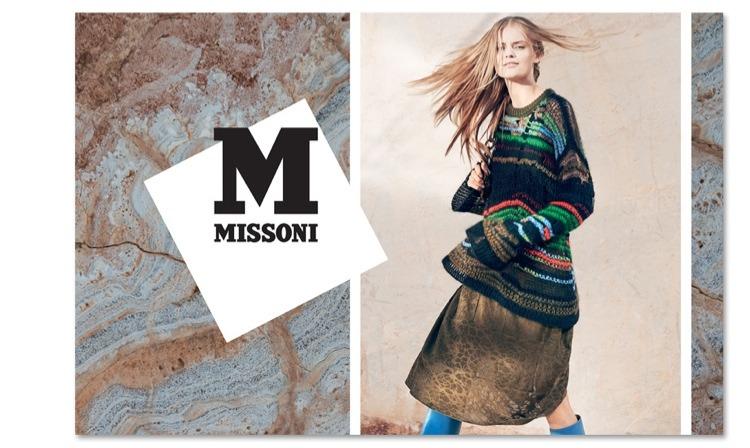 Из старого сундука. Кампания M Missoni. Осень-зима 2014-15